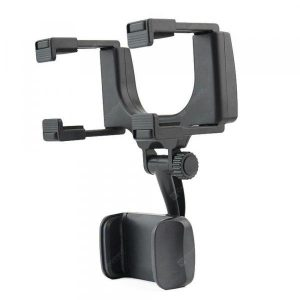 smartylife-360 Degree Rearview Mirror Mount Stand Holder for Cell Phone  Gearbest