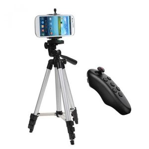 smartylife-Cwxuan Selfie Tripod with Bluetooth Remote Control  Gearbest