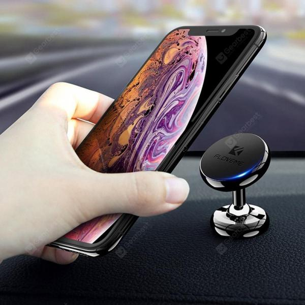 smartylife-FLOVEME Car Center Console Magnetic Mobile Phone Holder  Gearbest