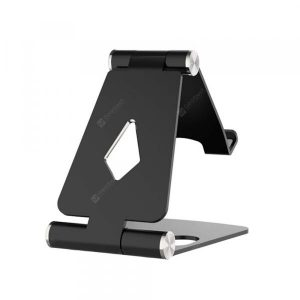 smartylife-Foldable Aluminum Metal Stand Multi Angle Cell Phone Tablet Desktop Holder  Gearbest