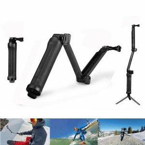 smartylife-Folding Three-way Adjustment Arm Selfie Stick GoPro Accessories for Camera  Gearbest