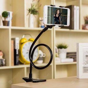 smartylife-For Cell Phone Holder  Universal Flexible Long Arms Mobile Phone Holder Desktop Bed Lazy Bracket Mobile Stand  Gearbest