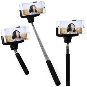 smartylife-Kjstar Z07 - 5 Wi - Fi Selfie Rotary Extendable Handheld  iPhone Monopod IOS4.0 and Above System  Gearbest