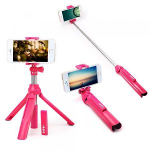 smartylife-Portable Bluetooth 4.0 Camera Selfie Monopod for iPhone X  Gearbest