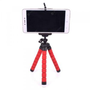 smartylife-SZKINSTON Universal Desktop Portable Tripod Cell Phone Adjustable Stand Holder  Gearbest