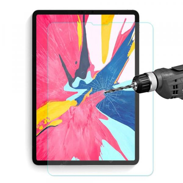 smartylife-0.33mm 9H 2.5D Arc Side Full Screen Tempered Glass Protective Film For Apple 11 Inch iPad Pro  Gearbest