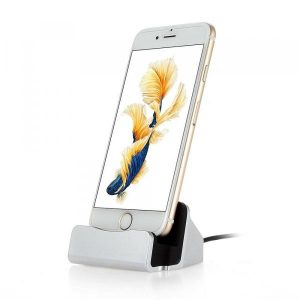 smartylife-Charging Station Charger Dock for iPhone 8/iPhone 8 Plus /iPhone X/ iPhone 7 / 7 Plus/6/6 Plus  Gearbest