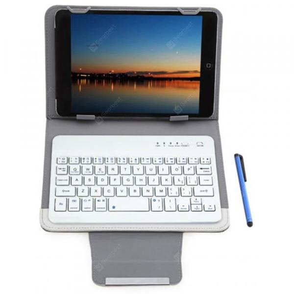 smartylife-Cool  3 in 1 Bluetooth 3.0 Keyboard Protective Case 7 / 8 inch Tablet  Gearbest