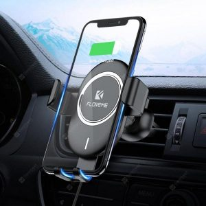 smartylife-Floveme Car Gravity Wireless Charger Phone Holder  Gearbest