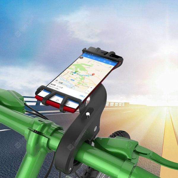 smartylife-LEEHUR Silicone Bike Phone Holder Stand Bracket Support for Mobile Phone  Gearbest