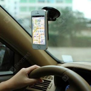 smartylife-Mobile Phone Bracket Front Window Suction Tray Mobile Phone Holder Apple Samsung Car Navigation Mobile Phone Clip General Purpose.  Gearbest