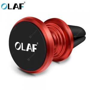 smartylife-OLAF Magnetic Car Phone Holder 360 Rotation Bracket Screw Thread Stand For iPhone Samsung Huawei  Gearbest