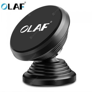 smartylife-OLAF Magnetic Car Phone Holder 360 Rotation Bracket Screw Thread Stand For Phone Samsung Huawei  Gearbest