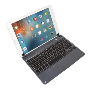 smartylife-Plug-in Hinge Card Slot Flip Bluetooth Keyboard Air Light Keyboard for iPad Air2 Pro9.7  Gearbest