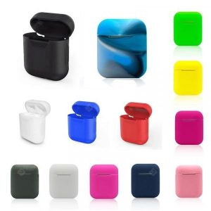 smartylife-Soft Silicone Case Shockproof Cover Earphone Cases Ultra Thin Air Pods Protector  Gearbest