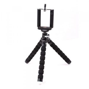 smartylife-Universal Compact Tripod Stand Flexible Octopus Cell Phone Camera Selfie Stick Tripod Mount for Smartphone / Digital Camera  Gearbest