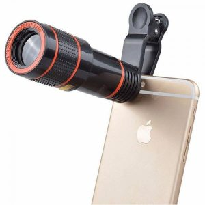 smartylife-12X HD Camera Zoom Focus External Phone Lens  Gearbest