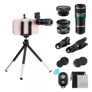 smartylife-12X Phone Telescope 10 in 1 The Lens Suit  Gearbest