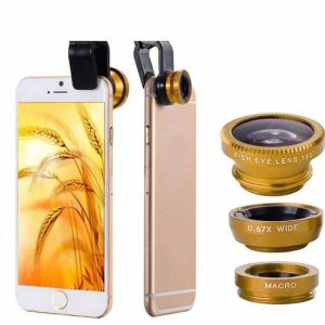 smartylife-3 in 1 Fish Eye Wide Angle Macro Camera Clip-on Lens for Cell Phone  Gearbest