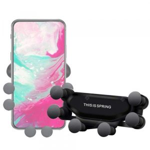 smartylife-360-Degree Rotation Gravity Car Holder Mount Air Vent Phone Stand for iPhone  Gearbest