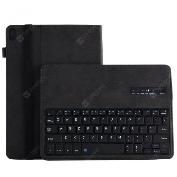smartylife-Android / Windows Dual System Universal Detachable Bluetooth Keyboard Case for Lenovo Tab P10 TB - X705F / Tab M10 TB - X605F / HUAWEI M3 Youth 10.1inch  Gearbest