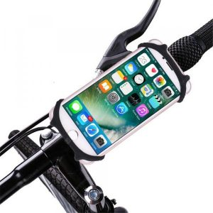 smartylife-Bike Bicycle Motorcycle Handlebar Mount Holder Phone Holder With Silicone Support Band for iphone Samsung GPS Universal  Gearbest