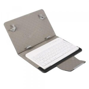 smartylife-Bluetooth Keyboard PU Leather Case Stand Cover  for Pad Universal 7inch 8inch  Gearbest