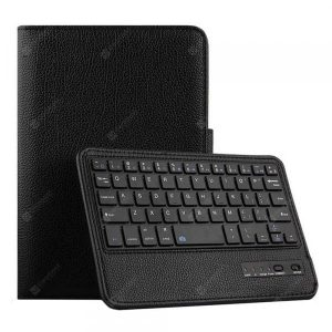 smartylife-CHUMDIY PU Leather Bluetooth Keyboard Cover Case with Stand for iPad Mini 4/5  Gearbest