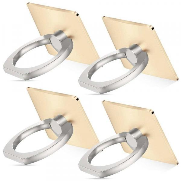 smartylife-Cell Phone Finger Ring Stand 360 Degrees Rotation Holder 4pcs  Gearbest