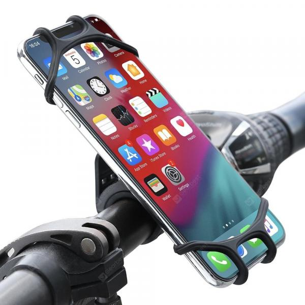 smartylife-FLOVEME Rotatable Silicone Bike Phone Holder for 4.5 - 7 inch Smartphone  Gearbest