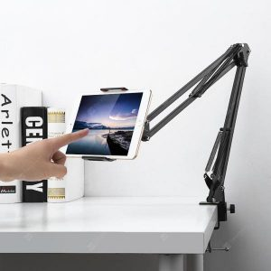 smartylife-Gocomma Metal Long Arm Mobile Phone Holder Bracket  Gearbest