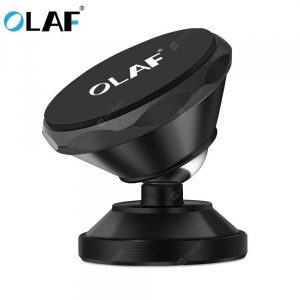 smartylife-OLAF Universal Magnetic Car Phone Holder 360 Rotation Bracket Phone Stand For iPhone Samsung Huawei  Gearbest