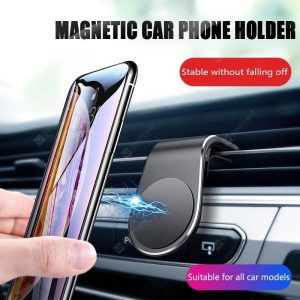 smartylife-OLAF Universal Air Vent Magnet Car Phone Holder Stand for Iphone Huawei Samsung Mobile Phone  Gearbest