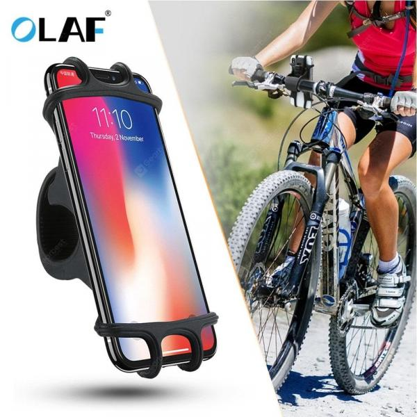 smartylife-OLAF Universal Bicycle Silicone Phone Holder Support Telephone Portable for Iphone Samsung Xiaomi  Gearbest
