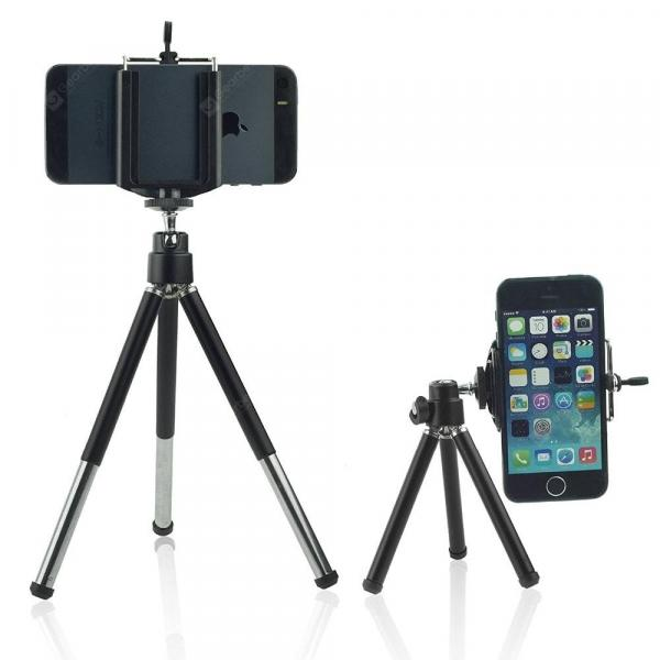 smartylife-Mini Scalable Phone Desktop Tripod Stand Holder  Gearbest