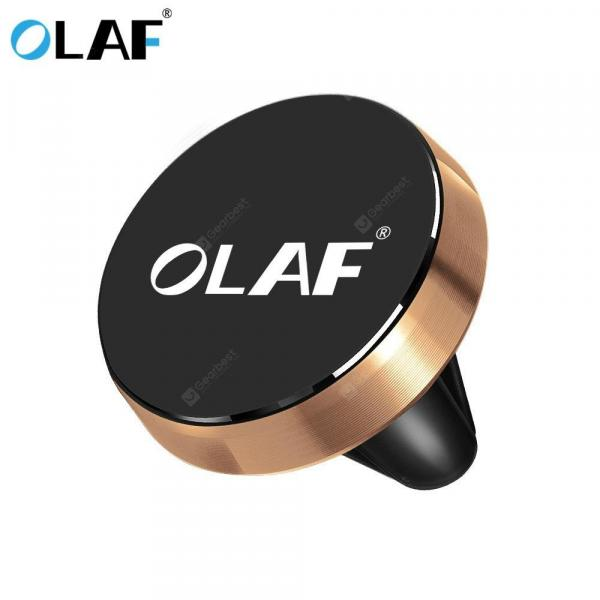 smartylife-OLAF Car Phone Holder Magnetic Holder Air Vent Stand GPS For iPhone Samsung Huawei Universal  Gearbest