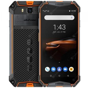 smartylife-Ulefone Armor 3W 4G Phablet 5.7 inch Android 9.0 Helio P70 Octa Core 2.1GHz 4GB RAM 64GB ROM 21.0MP Rear Camera 10300mAh Battery Face ID Fingerprint Recognition IP68 IP69K  Gearbest