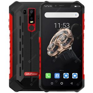 smartylife-Ulefone Armor 6S 4G Phablet 6.2 inch Android 9.0 Helio P70 Octa Core 2.1GHz 6GB RAM 128GB ROM 16.0MP + 8.0MP Rear Camera 5000mAh Battery IP68 IP69K  Gearbest