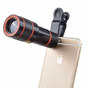 smartylife-Universal 12 Times Mobile Phone Telephoto HD External Camera Lens  Gearbest