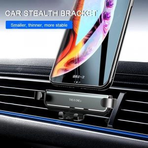 smartylife-LEEHUR Gravity Car Holder Stand Metal Air Vent Clip Mount Phone Holder For iPhone 11 Pro MAX Xiaomi  Gearbest