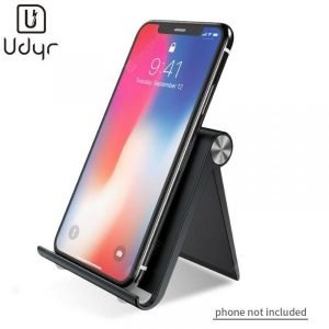 smartylife-Udyr ABS-Silcone Pad Foldable Cell Phone Support Stand Desktop-Stand Table iPad Smartphone Universal  Gearbest