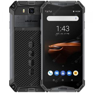 smartylife-Ulefone Armor 3W 4G 5.7 inch Phablet Android 9.0 Helio P70 Octa Core 2.1GHz 10300mAh Battery 21.0MP Rear Camera Face ID Fingerprint Recognition IP68 IP69K  Gearbest