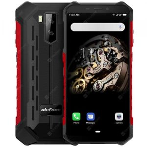 smartylife-Ulefone Armor X5 4G Phablet 5.5 inch Android 9.0 MT6763 Octa Core 3GB RAM 32GB ROM 2 Rear Camera 5000mAh Battery Global Version  Gearbest