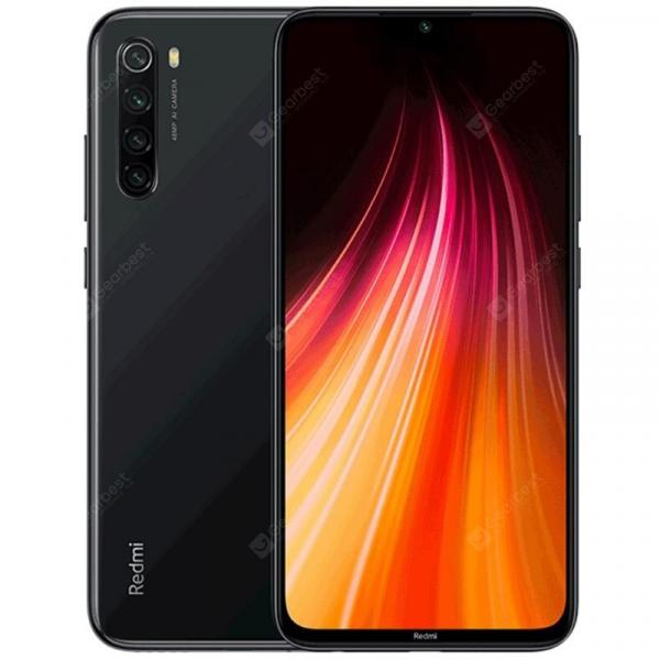 smartylife-Xiaomi Redmi Note 8 4G Phablet Global Version 6.3 inch MIUI 10 Snapdragon 665 Octa Core 4GB RAM 128GB ROM 4 Rear Camera 4000mAh  Gearbest
