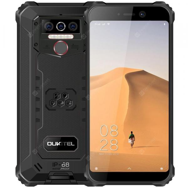 smartylife-OUKITEL WP5 Black 4 + 32GB Cell phones