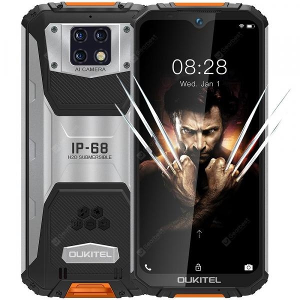 smartylife-OUKITEL WP6 Orange Cell phones