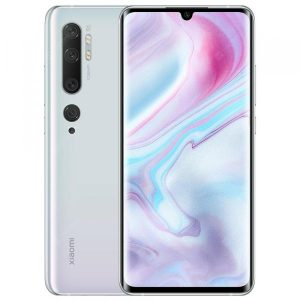 smartylife-Xiaomi Mi Note 10 White Cell phones