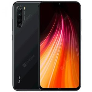 smartylife-Xiaomi Redmi Note 8 Black 4+64GB Cell phones